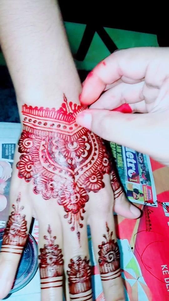 #hennabyme #merahredvelvet #?????