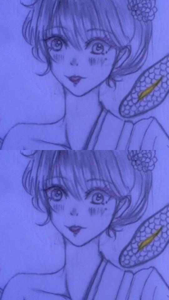หัดวาดตัวครับ ติได้ แนะนำที?#วาดรูป #มือใหม่ #วาดกากๆๆ #เมียงู