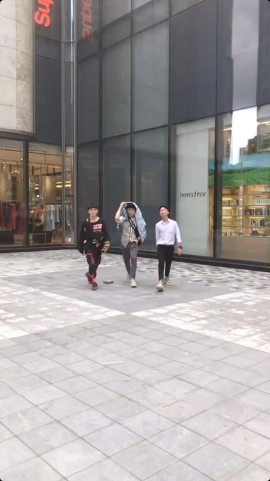 . Quả báo tới sớm nha em ? @Nguyễn Thượng Nhân  @?Dancer?Bonp? #twsteam #jumpwhite ??!