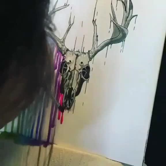 #สวย #งานศิลปะ #สีสัน #ภาพวาด #มันคือศิลปะ #สีย้อย โอ้ยยยย จาก ig:artdaily_viral งับ