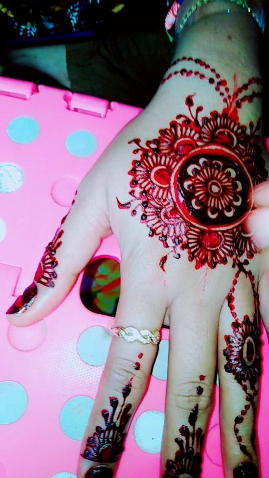 #hennapahang #merahredvelvet #hennabyme #?????