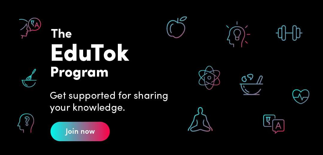 The #EduTok Program was launched in New Delhi in October 2019