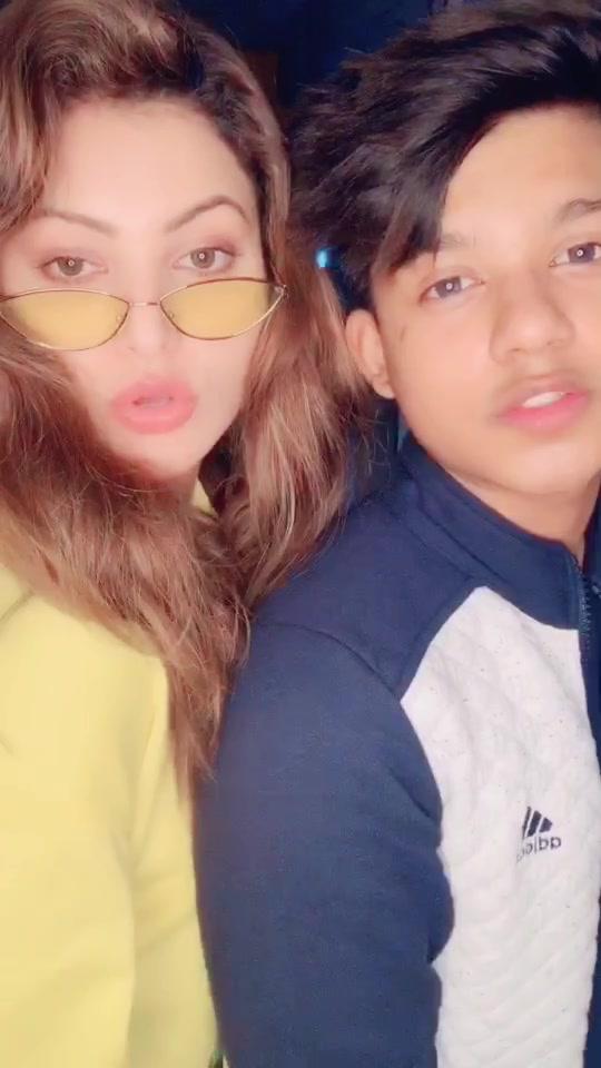 #lovedose with @urvashirautela ❤️