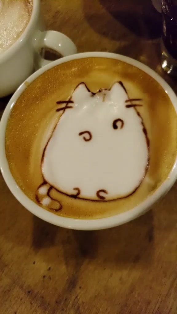 #pusheen #cat #latteart